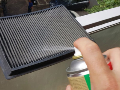 Come pulire il filtro dell'aria in cotone – sportivo o racing