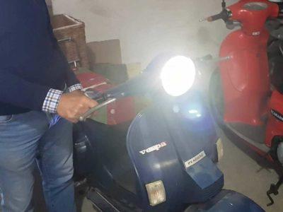 Fare circuito lampada a led su mezzi senza batteria.